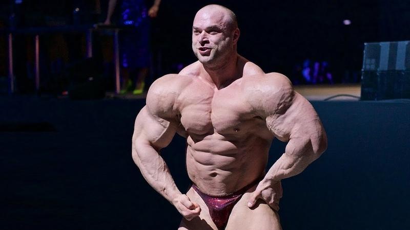2019 Grand Prix Russia, National Bodybuilding Community - Sergey Kulaev, guest posing.