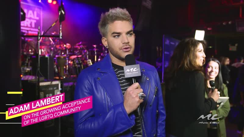 2017-06-01 - Music Choice - Adam Lambert on LGBTQ Acceptance