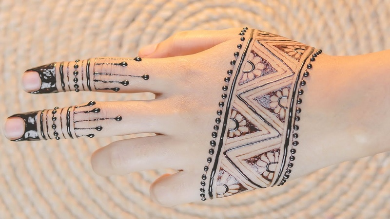 New Mehndi Design Simple Karwa Chauth Mehndi Design Easy Mehndi Design by Mehndi training center