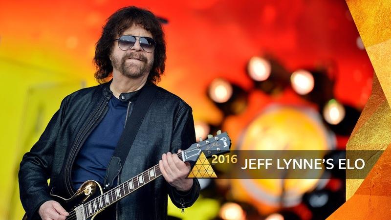 Jeff Lynne's ELO Mr Blue Sky Glastonbury 2016