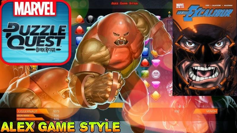 Juggernaut (Common) Classic - Super abilities - Marvel Puzzle Quest - Heroes in Video Games