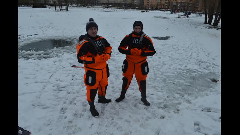 Два школьника переростка провалились под лед