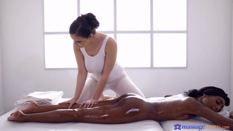 Sofia Lee, Asia Rae Czech masseuse treats black UK babe Tattoo, Athletic, Thick, Voluptuous,