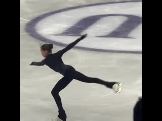 Камила валиева тренироа isu grand prix of figure skating final 2019