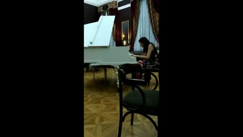 №7. Дина Казачанская. Отрывок из «Ссоры» С. Прокофьева из балета «Золушка»