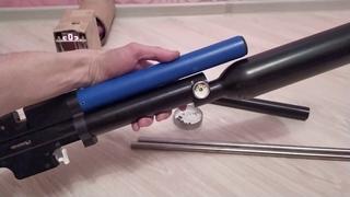 Зависимость скорости пули от длины ствола с разными нарезами и твистом ствола