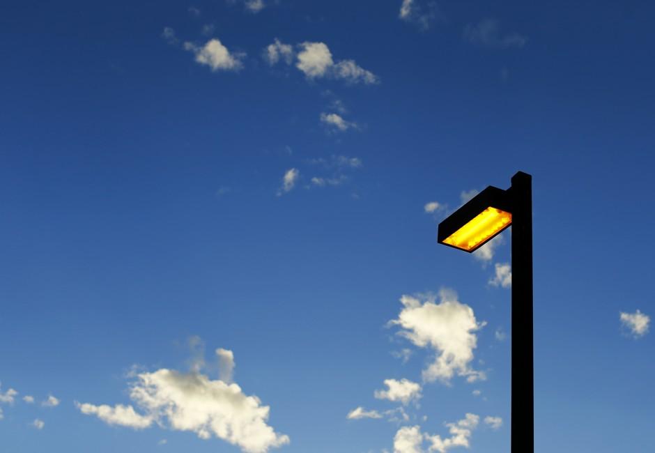 Нетрадиционное использование светодиодных уличных фонарей