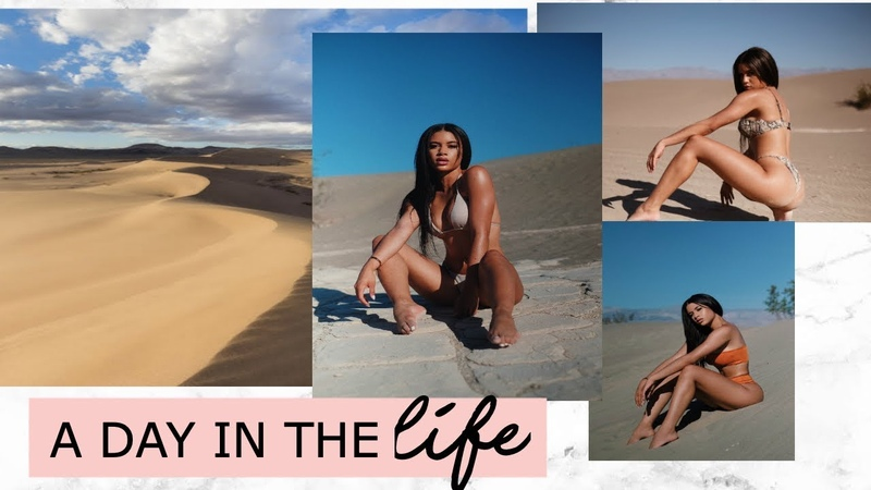 A DAY IN THE LIFE OF A MODEL