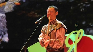 «Азамат» Башкирская народная мелодия,  курай Азат Бикчурин, скрипка Марат Садриев