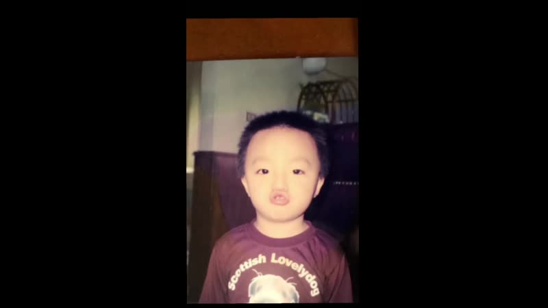 Чен Линон и его детские фото