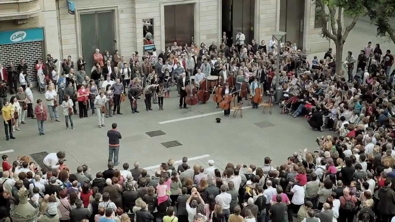 Flashmob Flash Mob Ode an die Freude Ode to Joy Beethoven Symphony No 9 classical music