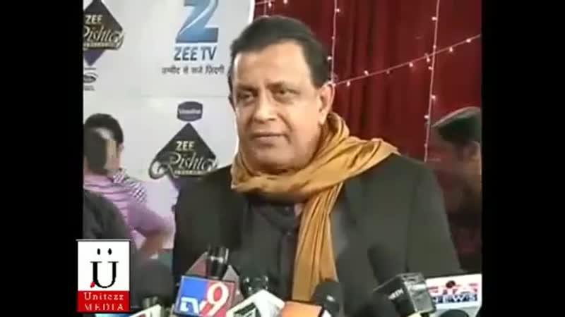 Mithun Chakrabortys Interview on Red Carpet of Zee Rishtey Awards