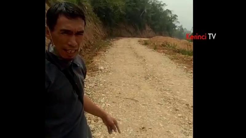 Amburadul Material Pengerasan Jalan Kualitas Rendah Pulau Sangkar Kebun Baru