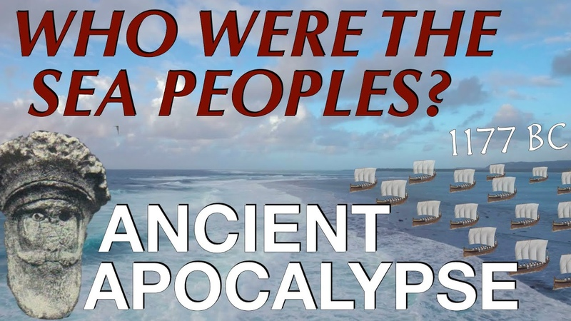 The Sea Peoples The Late Bronze Age Collapse 1200 1150 B C