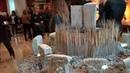 Выставка древностей цивилизации - 12 000 лет назад. Эти знаки были обнаружены при раскопках города.