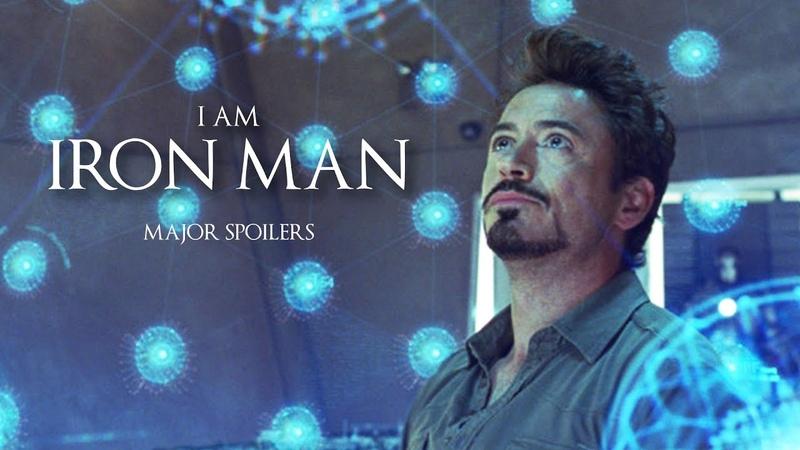 ► Tony Stark I am Iron Man ENDGAME MAJOR SPOILERS ⚠
