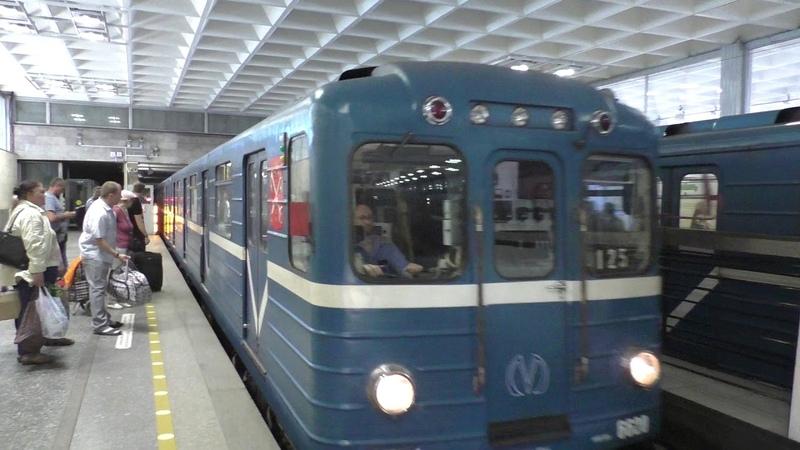 Метропоезд Ем №125