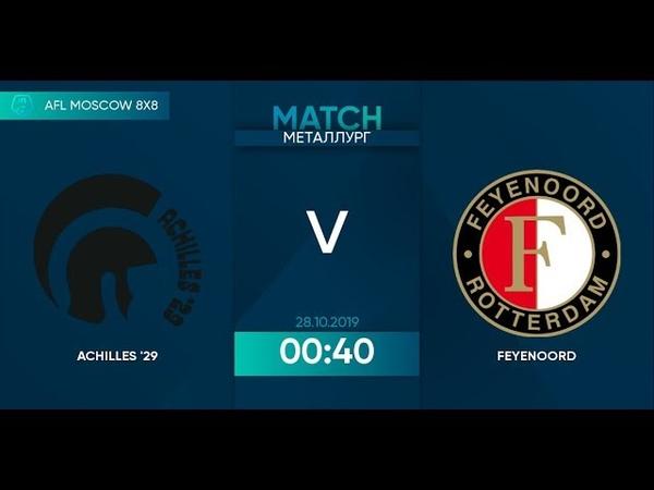 AFL19. Netherlands. Eredivisie. Day 17. Achilles - Feyenoord.