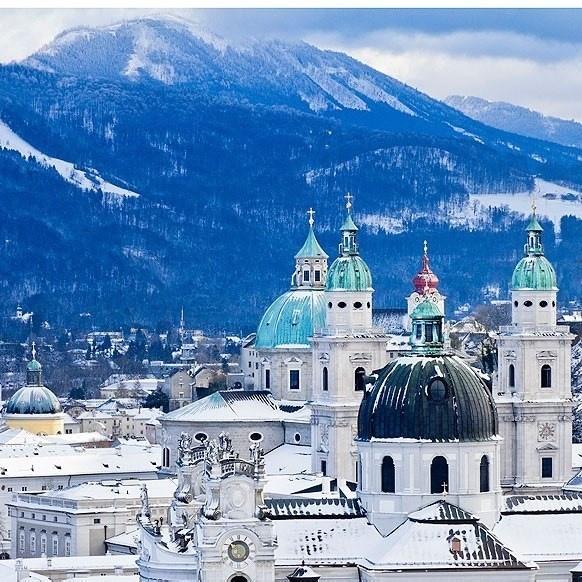 Прямые рейсы в Зальцбург (Австрия) от 5500 туда-обратно из Москвы в январе-феврале