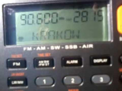 ES 90 6 Radio Maryja Kraków Komin Huty ArcelorMittal Poland MP ~1369km