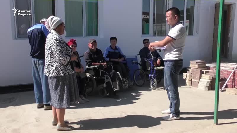 Қызылордада еңбекақысын даулаған әлеуметтік көмекшілер сотқа жүгінді