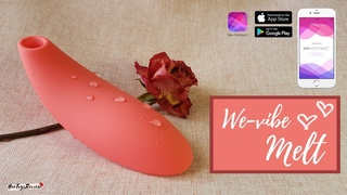We-Vibe Melt Demo: A powerful remote-controllable clit stimulator