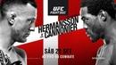 UFC Copenhagen: Hermansson x Cannonier