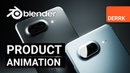 Product Animation in Blender: Phone