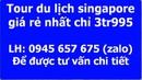 Tour du lịch singapore tết nguyên đán giá rẻ nhất 2020 3 ngày 2 đêm từ hồ chí minh hcm hànội đà nẵng