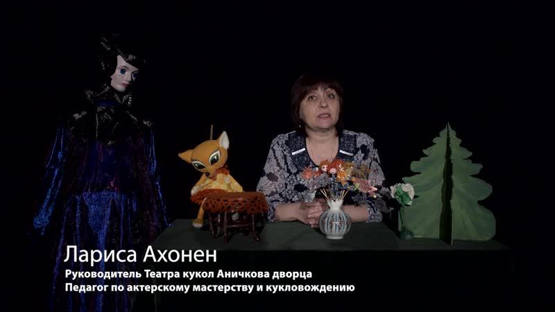 Системы кулол в театре Аничкова Дворца Л В Ахонен