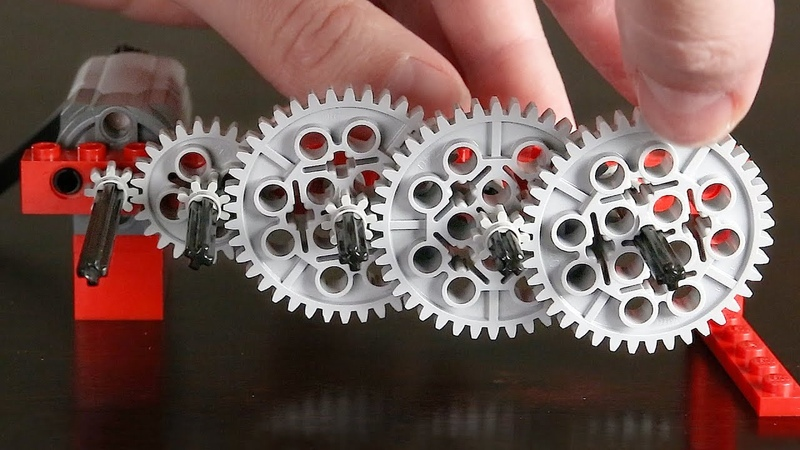 Making a GOOGOL 1 Reduction with Lego Gears