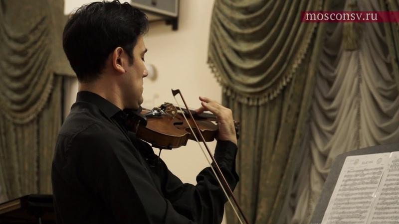 Хесус Гуриди Элегия для скрипки и фортепиано