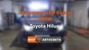 Установка LED балки 300W | Toyota Hilux