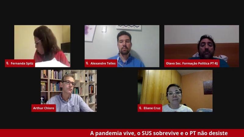 Debatem a gestão do governo Bolsonaro em meio a pior crise epidemiol gica do século