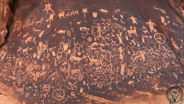 «Газетный камень» - «самиздат» индейцев, рассказывающий об их жизни две тысячи лет назад