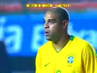Eliminatórias  Copa   2010    Brasil    x   Chile
