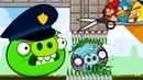 ЗЛАЯ ДИЧЬ или Раздавить Плохих Свинок с Кидом 2 Crush Bad Piggies с Angry Birds на крутилкины