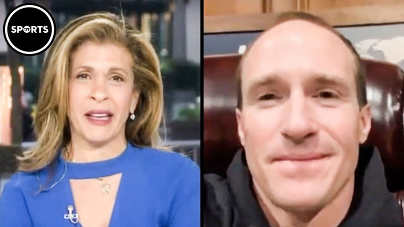Hoda Kotb Starts To Cry After Drew Brees Announces Coronavirus Donation