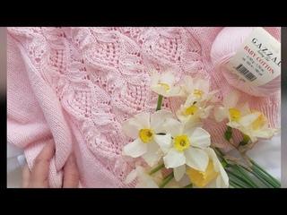 САМЫЙ КРАСИВЫЙ УЗОР. Японский узор в джемперах. МАСТЕР КЛАСС. Вязание спицами. #knitting  #knit