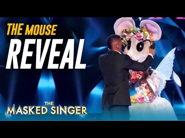 The Mouse Reveal Legendary SUPERSTAR Unmasked on @The Masked Singer