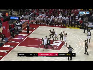 NCAAM 20191229 Bryant vs (13)Maryland