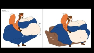 fat furs and anime girls weight gain #7