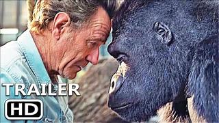 ОДИН И ТОЛЬКО ИВАН Официальный трейлер (2020) Брайан Крэнстон, Анджелина Джоли, Disney Movie HD