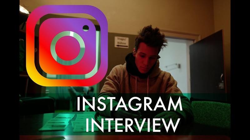 Das große Instagram-Interview! (Wincent Weiss Tour Tagebuch Nr. 12)
