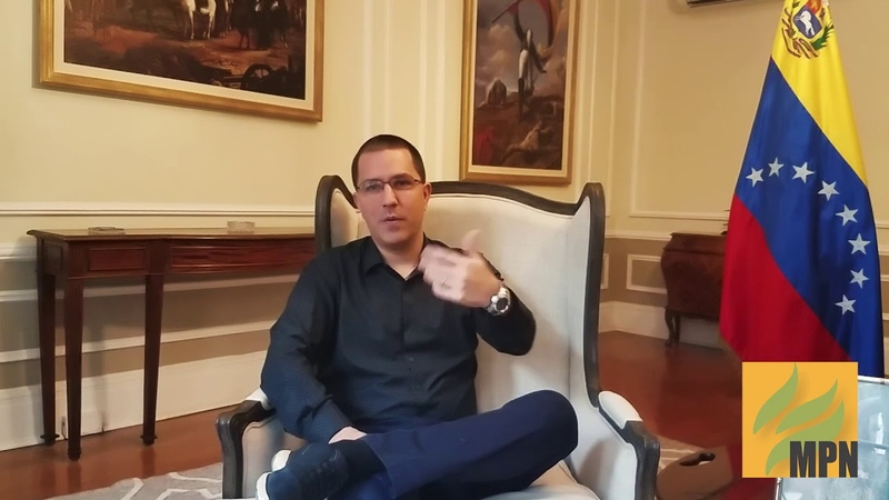 Venezuela's FM Talks Guaido, Illegal U.S. Seizure of D.C. Embassy