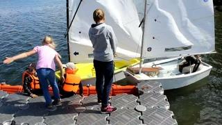 Детский парусный клуб «Оптимист» на озере Большое