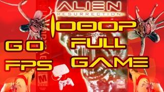 #Alien #Resurrection [#PS1] #Полная #Игра #Уровень 8 #Складской #Комплекс #Жесткий #60FPS