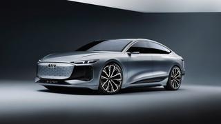 The design of the new Audi A6 e-tron concept