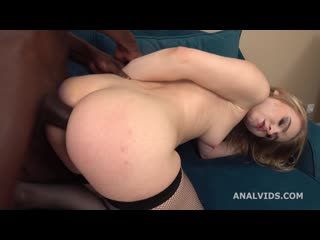 Light Fairy first BBC, with Balls Deep Anal, Gapes, Almost Buttrose and Cum in Mouth