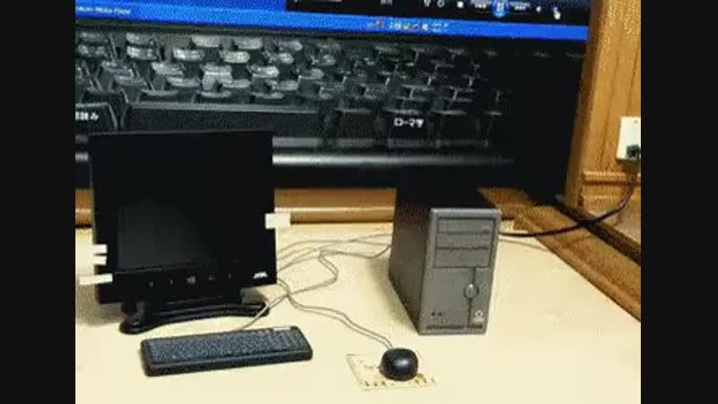 Видео мини компьютер Video mini computer Dbltj vbyb